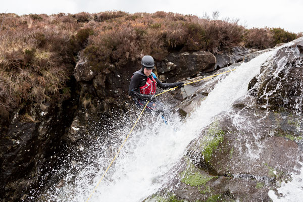 Canyoning on Skye