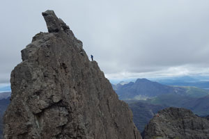 Cuillin | 2nd pitch on the In Pinn