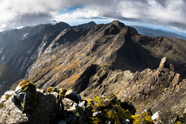 Scrambling | The northern Cuillin from Sgurr Nan Gillean